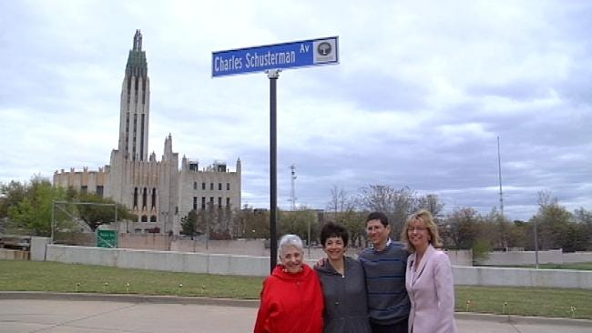 Street Named For Tulsa Couple Dedicated To Preventing Child Abuse