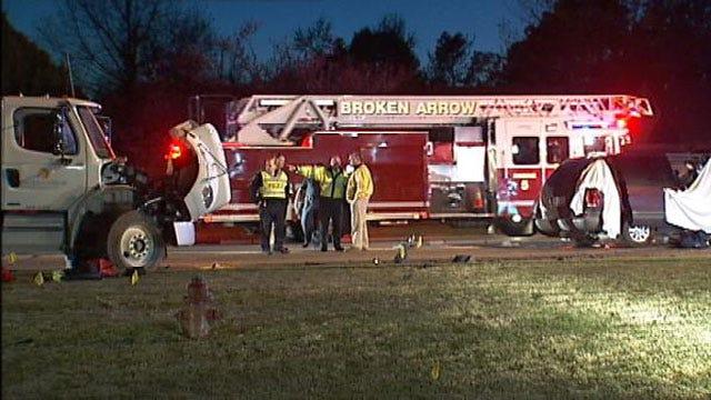 Woman, Boy Killed In Head-On Crash In Broken Arrow