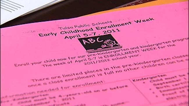 Tulsa Public Schools Urging Parents To Pre-Enroll Pre-K, Kindergarten Students