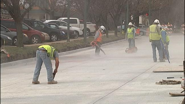 City Crews Making Progress On 21st And Utica Water Main Repair