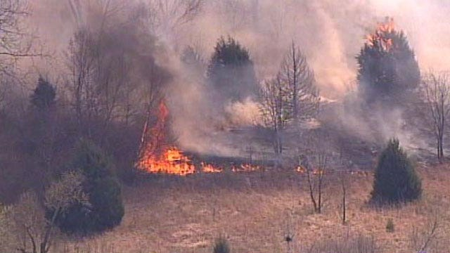 Despite Ban, Outdoor Burning Allowed In Oklahoma With County Permit