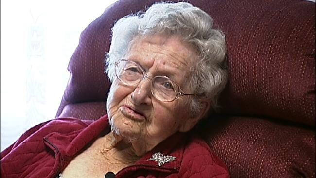 Collinsville Baseball Fan Gets 100th Birthday Wish Opening Day