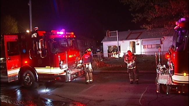 Tulsa House Fire Displaces Family Early Thursday