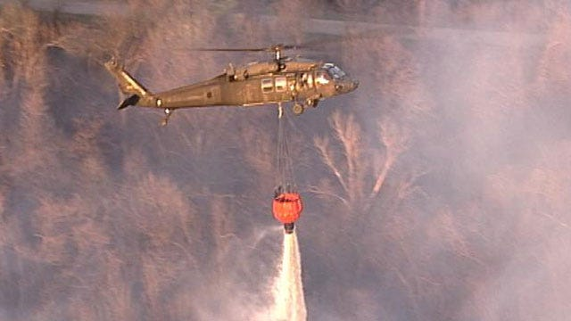 Who Activates National Guard Helicopters For Oklahoma Wildfires?
