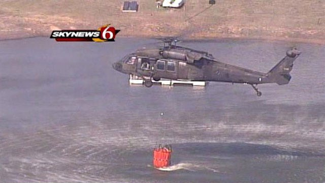 Fear Of Widespread Fire In Oklahoma Renews State Of Emergency