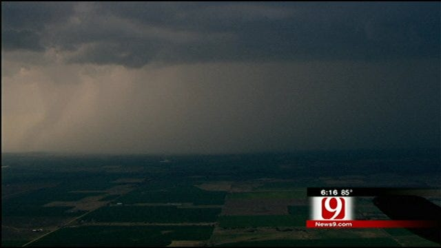 Hail, High Winds Pound Parts Of Oklahoma