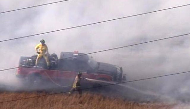 Wildfires Burn Up Budgets For Rural Oklahoma Fire Departments
