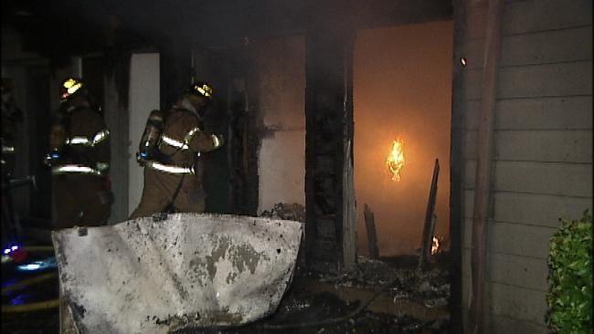 Meth Lab Blamed For Tulsa Apartment Fire