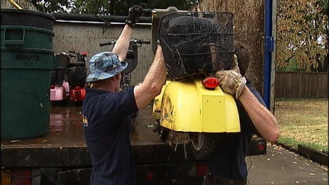 'Junkman' Helps Tulsa Homeowners Get Rid Of Unwanted Items