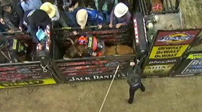 Professional Bull Riders In Tulsa This Weekend