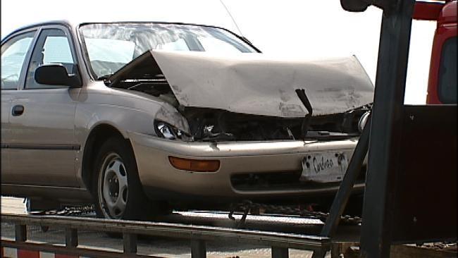 Six Car Crash Backs Up Traffic On I-44