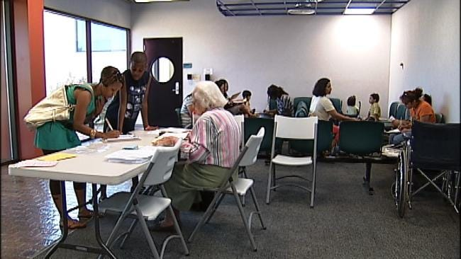 Parents Crowd Tulsa Clinics For New Student Vaccines