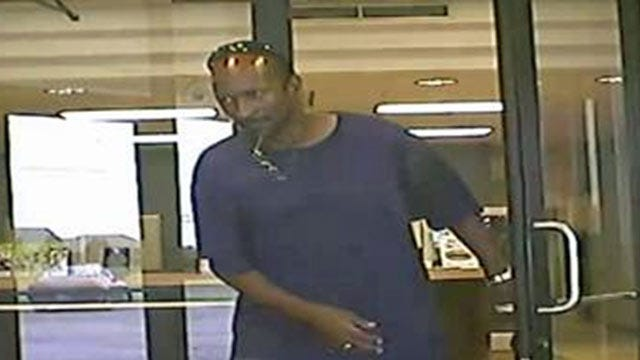 Police: Same Man Robs Tulsa Credit Union Two Fridays In A Row