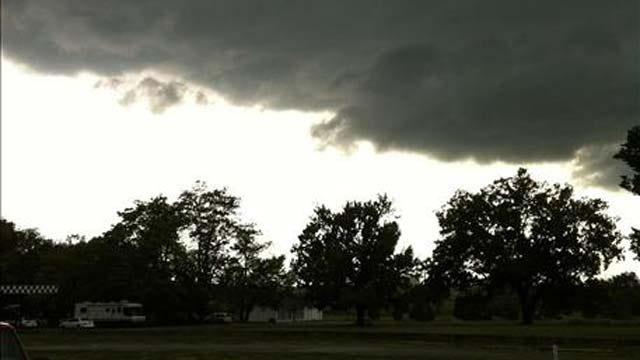Severe Weather Rolls Across Northeast Oklahoma