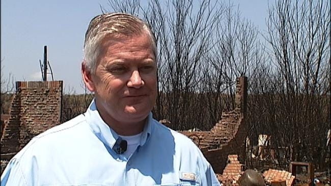 State Insurance Commissioner Tours Pawnee County Wildfire Damage
