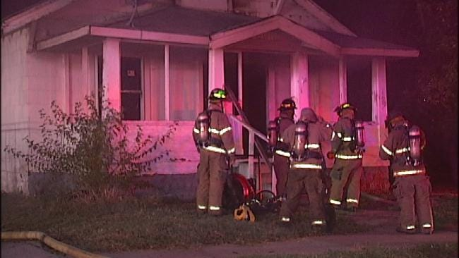 Vacant Tulsa House Fire Early Friday Labeled Arson Related