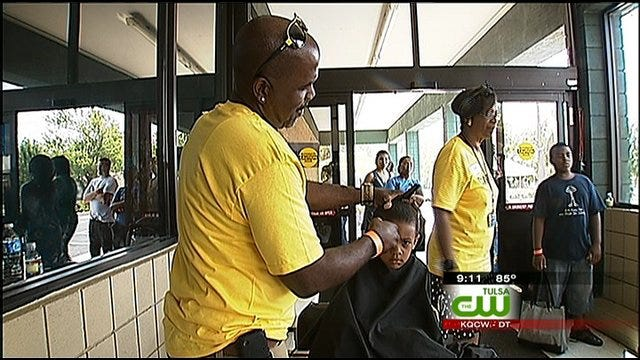 Back To School Block Party Helps Tulsa Students With Supplies