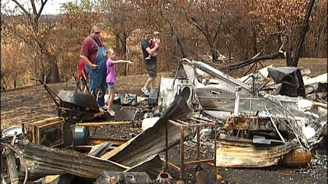 Man Saved By Teen Trying To Fight Back Pawnee County Fire