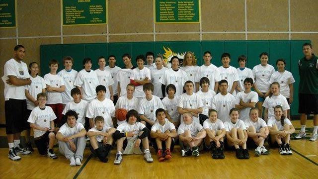 ORU's Damen Bell-Holter Holds Basketball Camp In Alaska