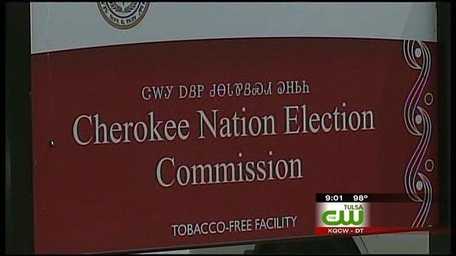 Cherokee Nation Deputy Chief Sworn In