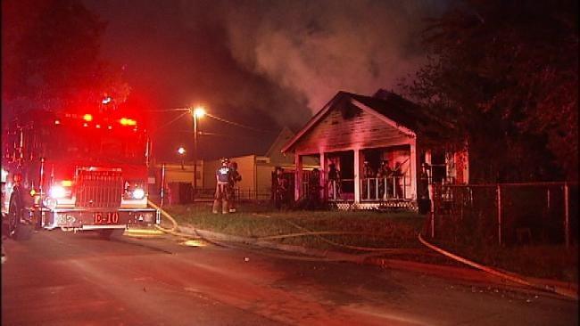 North Tulsa House Fire Investigated As Arson