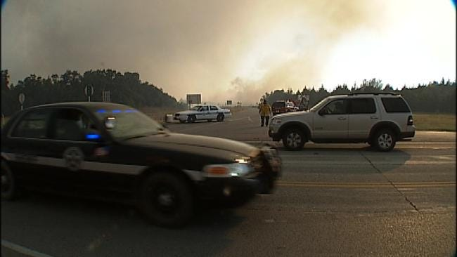 Terlton Fire Crews Dealing With Strained Resources After Destructive Fire