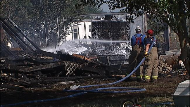 Father, Son Killed In Mayes County House Fire