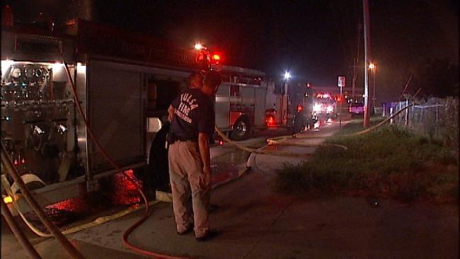 Fire Destroys Vacant North Tulsa Home