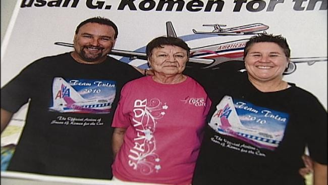 Daughter Of Cancer Survivor Races For The Cure