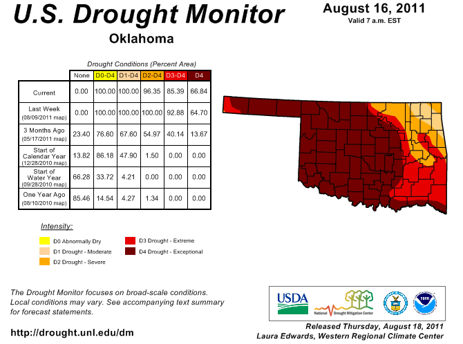 Drought Persists, But There is Hope!