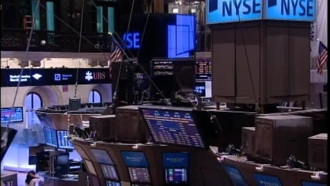 Governor Mary Fallin Rings Thursday's Opening Bell On Wall Street