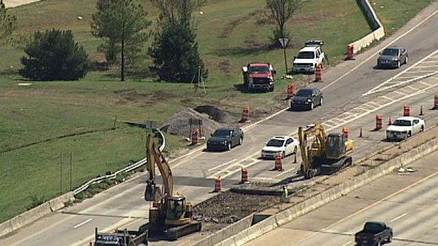 Highway Patrol Goes After Speeders In Tulsa's I-44 Construction Zone