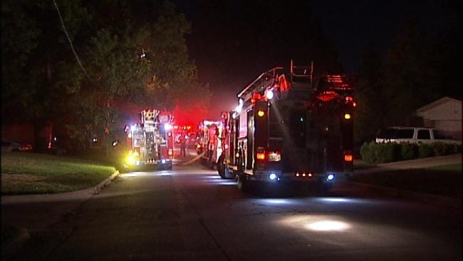Police: Tulsa Man Arrested After He Sets His House On Fire