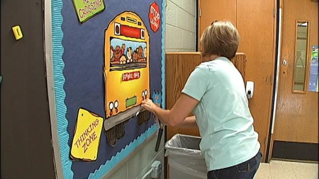 Gilcrease Teachers Prepare For Early School Year
