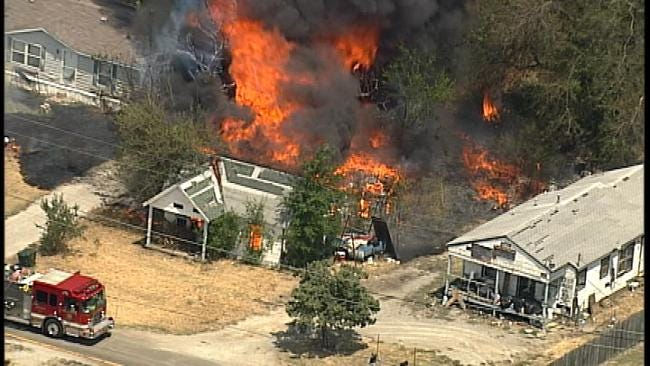 Residents Allowed Back After Fire Burns Several Homes Near Turley