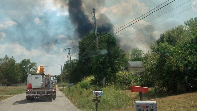 Sapulpa Grass Fire Contained After Evacuations