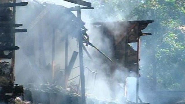 Teen Injured In South Tulsa House Fire