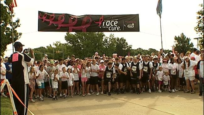 Tulsa's Race For The Cure Has New Route This Year