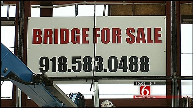 BOK Sky Bridge Goes Up For Sale, Comes Down To Earth