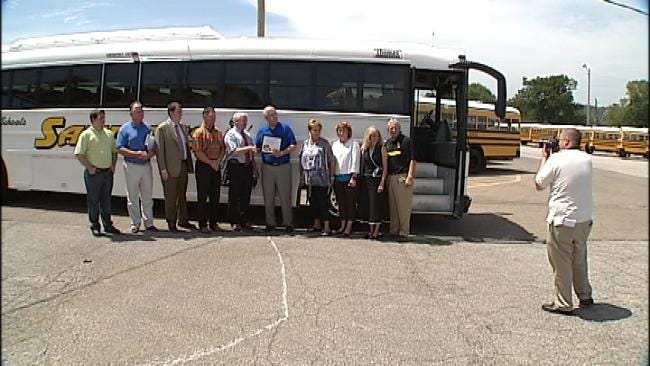 Green Country Schools Rewarded For Diesel Conversion