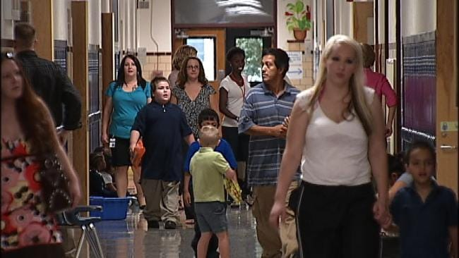 After A Summer Of Major Changes, Tulsa Public Schools Are Back In Session