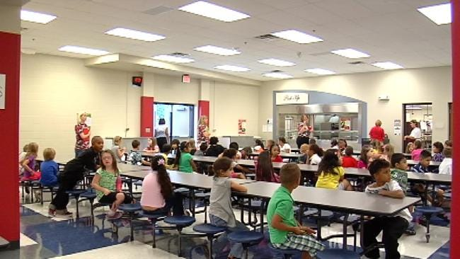 Tulsa Union Schools Welcome Back Students