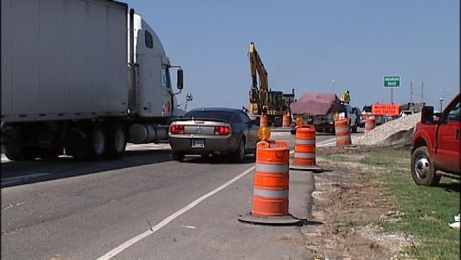 Expect Delays On I-44 At Arkansas River Bridge