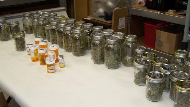 Owasso Police Seize Big Cache Of Cultivated Marijuana During Raid