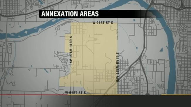 Questions Raised Over West Tulsa Annexation Proposal