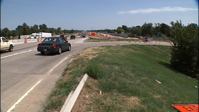 More Lane Shifts Begin For Tulsa I-44 Drivers