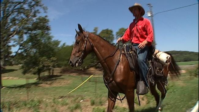 Oklahoma Man Goes Cross Country On Horseback In Search Of America