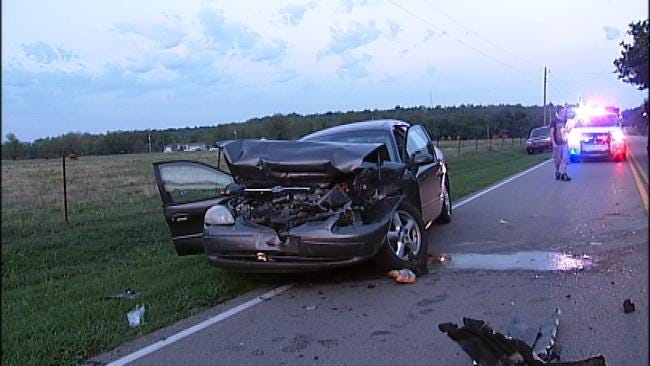 Two Drivers Injured In South Tulsa County Crash Wednesday