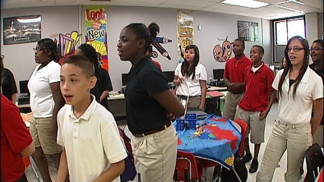 Tulsa Students Adjusting To Combined Junior, Senior Schools