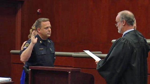 Broken Arrow's New Police Chief On The Job